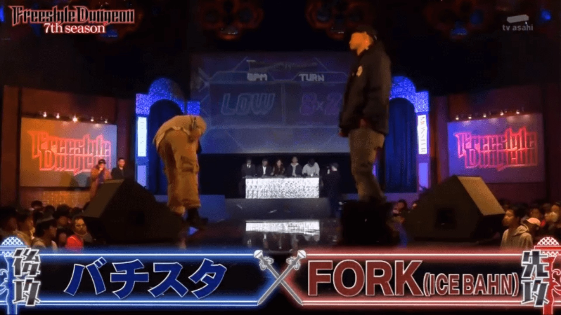forkとバチスタ
