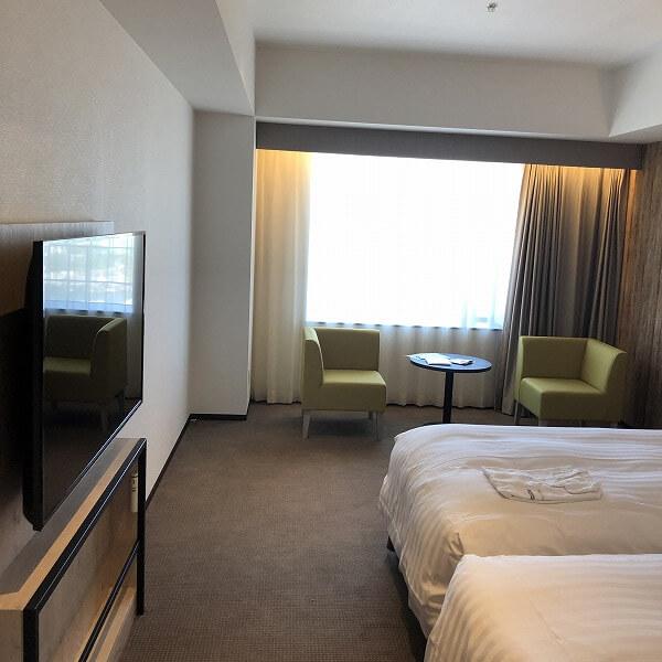 リーベルホテルの部屋