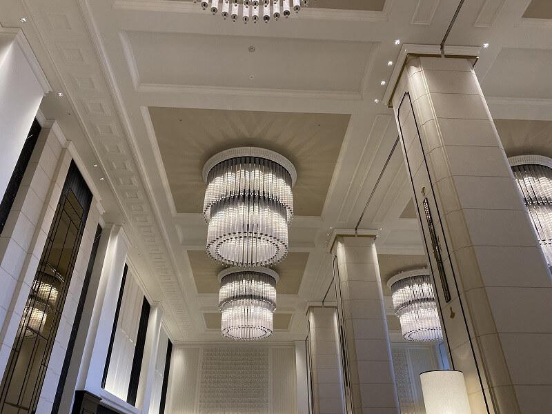 リーベルホテルの天井