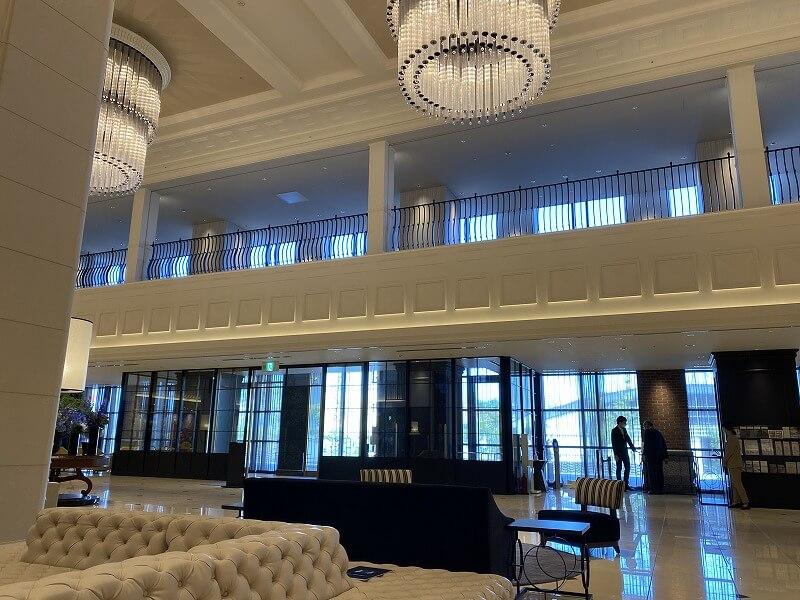 リーベルホテルのエントランス
