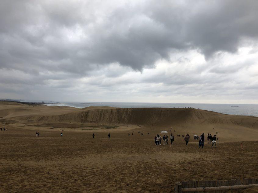鳥取砂丘の風景